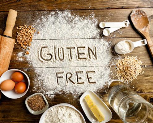gluten free grains on table