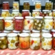 assorted fermented foods in jars