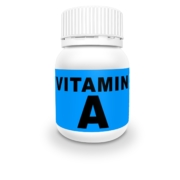 vitamin A bottle