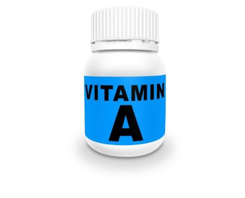 vitamin A bottle