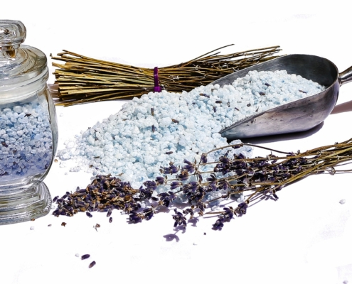 Lavender fresh cut and bath salts