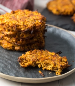 sweet potato hash cakes